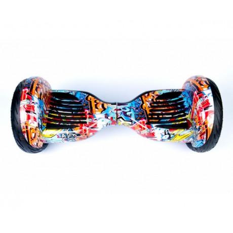 "Гироскутер 10.5"" Premium Smart Balance TAO TAO, цвет: ГРАФФИТИ ОРАНЖЕВЫЙ"