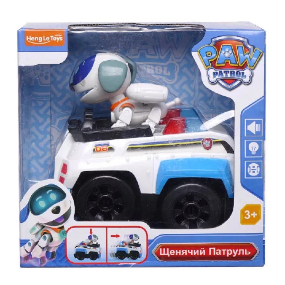 """Игровой набор """"Щенячий патруль"""" Робопёс на машине"""